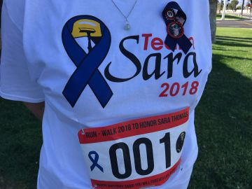 First Annual Run-Walk Honors Fallen Fire Fighter