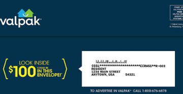 That $100 Check Tucked Among Your ValPak Coupons is Real, Company Says