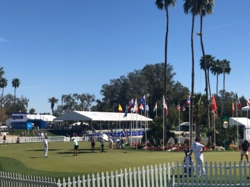 The Latest: Round 2 Highlights From The 2018 ANA Inspiration