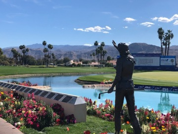 ANA Inspiration Tees Off Round 1, Awaits 30th Annual Leap Into Poppies Pond