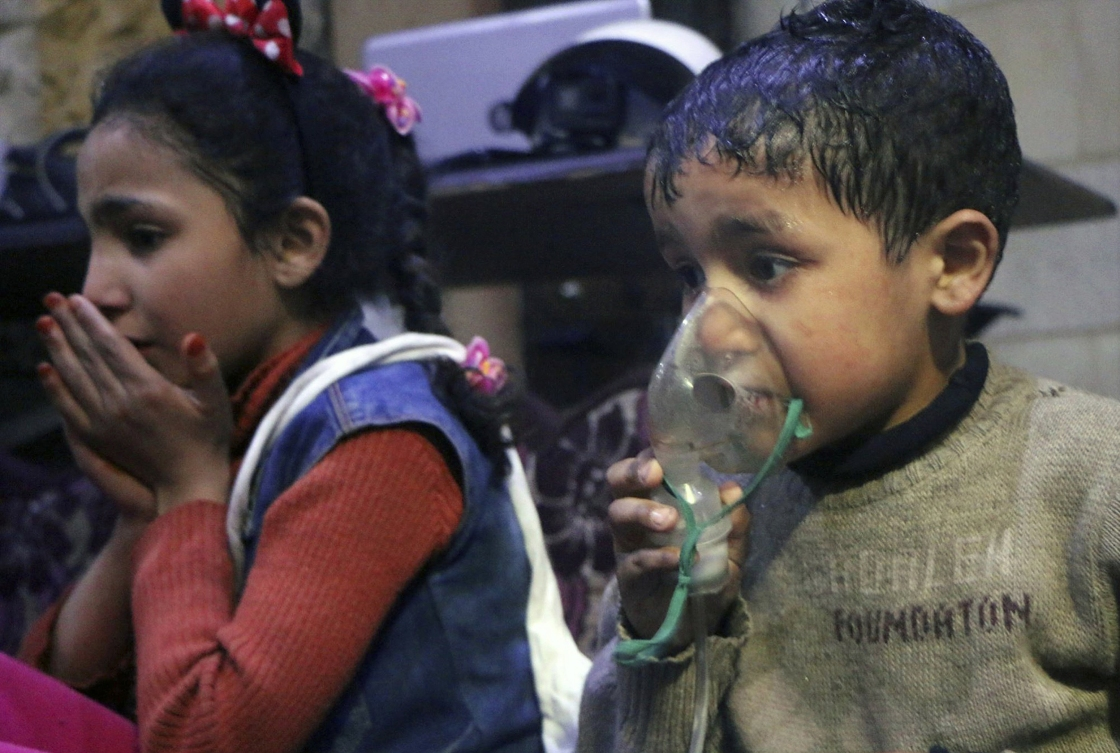 Survivors of a Chemical Attack in Syria Tell Their Stories for the First Time