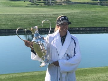 Pernilla Lindberg Survives 8 Hole Playoff to Claim 2018 ANA Inspiration Title