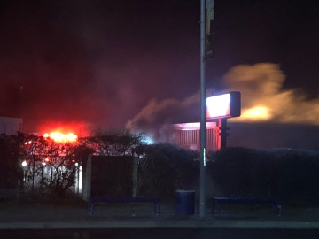 Fire Spreads to Several Units at Indio Storage Facility