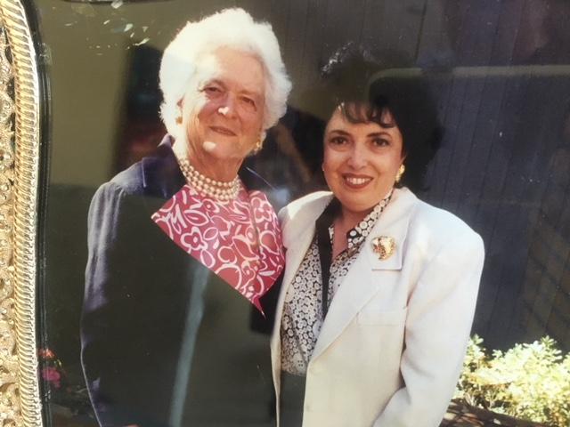 Barbara Bush Remembered By Dear Friend And Desert Local Nancy Tapick