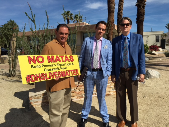 Pedestrian Safety Advocates In Desert Hot Springs Speak Out Against City Hall