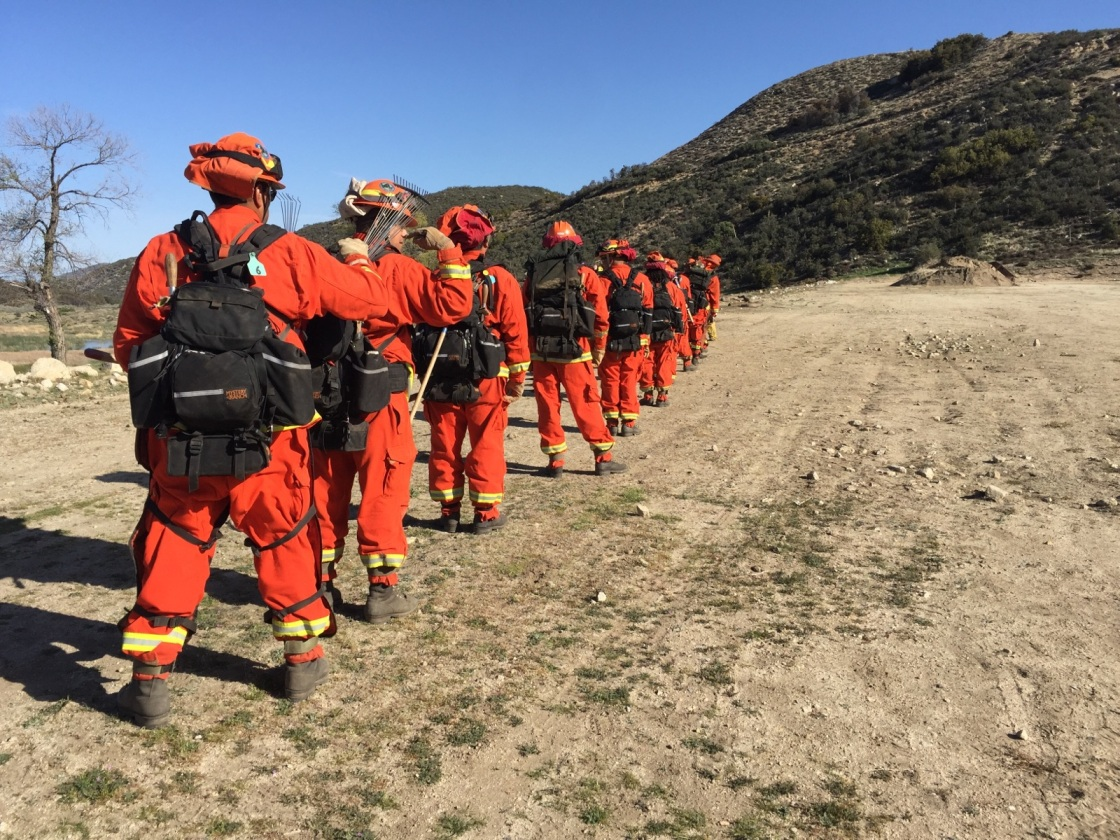 Supervisors Support Program That Puts Inmates to Work as Firefighters