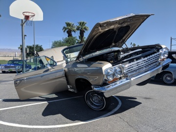 Vintage Car Show Raises Funds for Indio Elementary Students