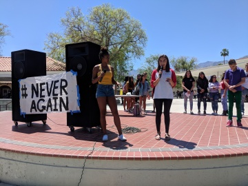 Local Students Said '#NEVERAGAIN' to Mass Shootings
