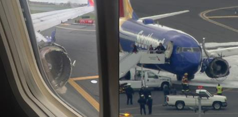 Photos: Southwest Flight Makes Emergency Landing in Philly After Engine Blows