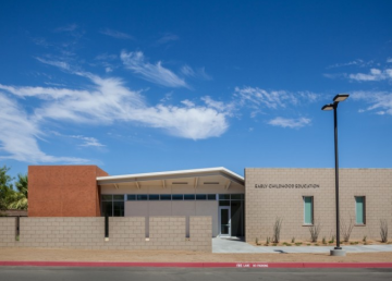 Fire Damages Building on College of the Desert Campus