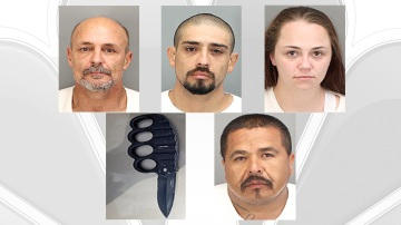 Seven Arrested in Desert Hot Springs Gang Sweep