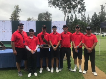 Palm Desert Finishes One-Shot From State Golf Title