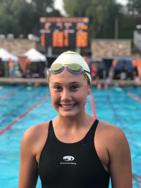 Akemi Von Scherr Captures La Quinta High's First-Ever CIF Swim Title