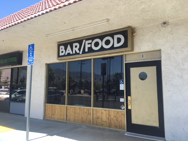 New Palm Springs Watering Hole Hides In Obscure Strip Mall