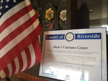 Shea's Veterans Center Welcomes First Resident In Desert Hot Springs