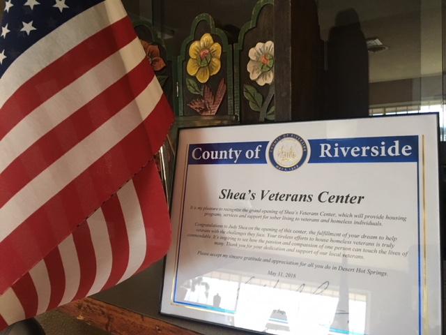 Shea's Veterans Center Welcomes First Resident In Desert Hot Springs