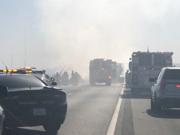 Alleged DUI Driver Whose Crash Led to Fiery Big-Rig Pileup Identified