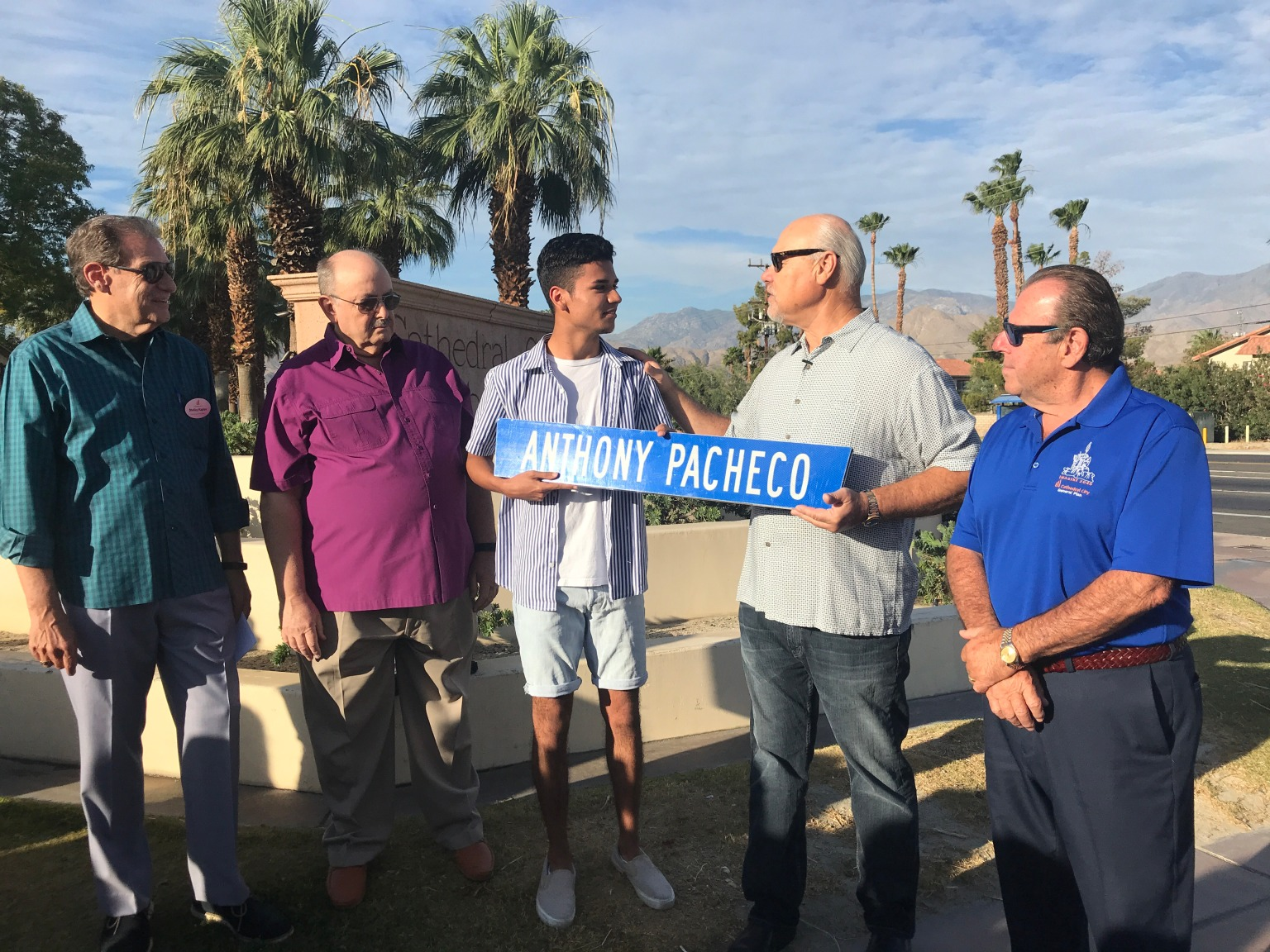 Cathedral City Renames Streets After Exceptional Students