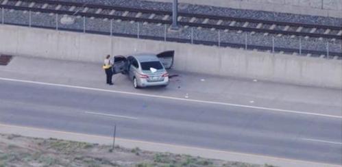 Uber driver shoots passenger dead on Denver highway, police say