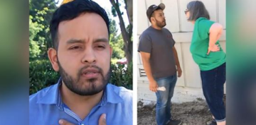 'You're Rapists': Woman Berates California Man in Racist Rant Caught on Video