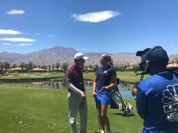 Golf Minute with Amy Zimmer: Conquering Water