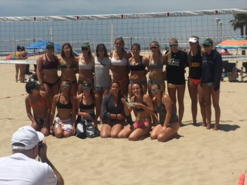 Reistad Finishes In Top 10 of Invite-Only Beach Volleyball Tournament