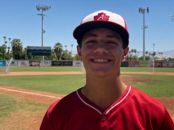 Local Baseball Standout Preparing For College Ball In Palm Springs Collegiate League