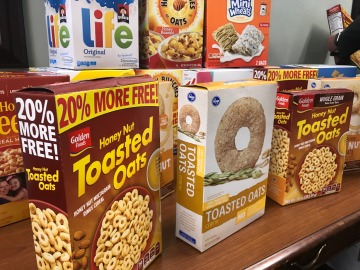 Cereal Drive Helps the Hungry Over Summer