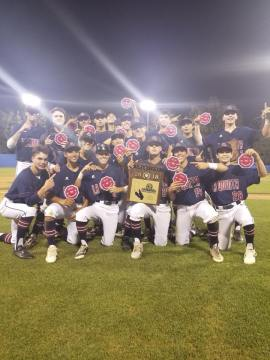 Blackhawks Fly Home With CIF-SS Division 4 Baseball Title