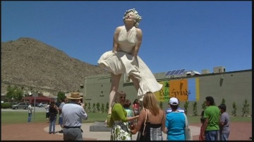 `Forever Marilyn' Sculpture Nears Return To Downtown Palm Springs
