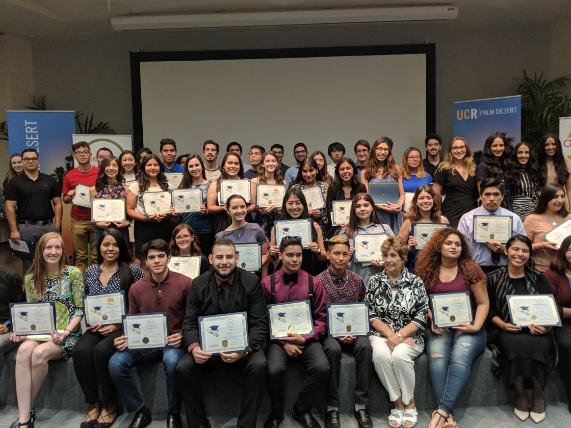 College-bound Coachella Valley Students Split over One-Million in Scholarship Funds