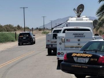 Sheriff's Department Reveals Woman's Burned Body Found Near Mecca DIS Scene