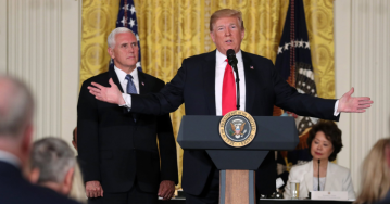 Trump: U.S. 'will not be a migrant camp … not on my watch'