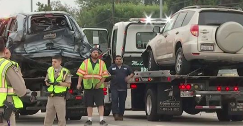 Father, Son Struck and Killed After Getting Out of Stalled SUV on Freeway