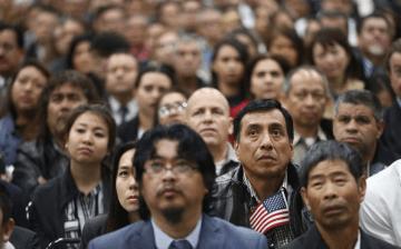 Citizenship application backlog 'skyrocketed' under Trump, report finds