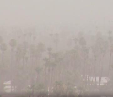Wacky Weather Hits the Coachella Valley
