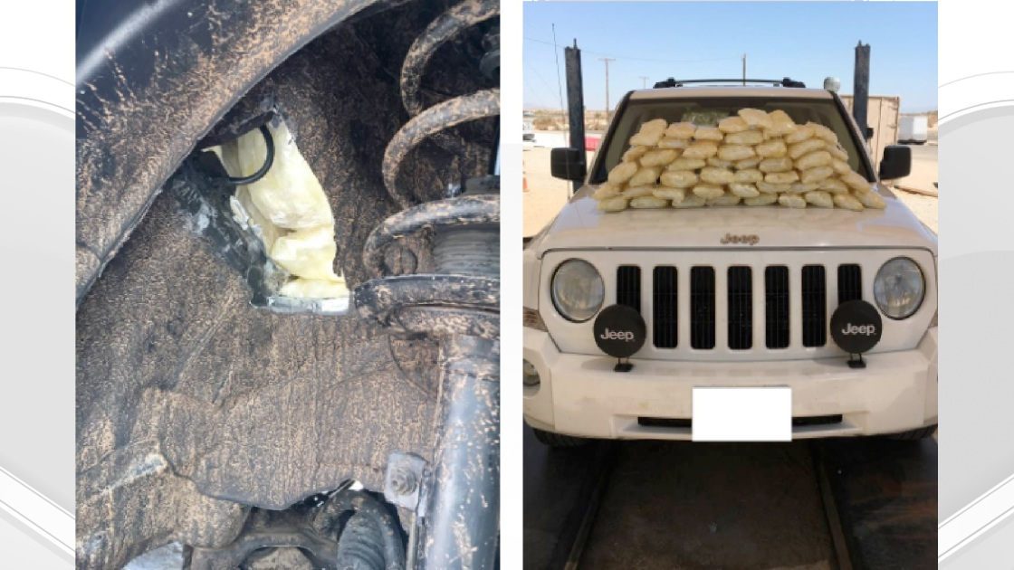 Border Patrol Discover Meth in a Secret Compartment