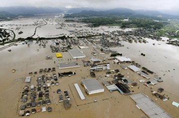 Flash Flooding in Japan Leaves Over 80 People Dead, Many More Missing