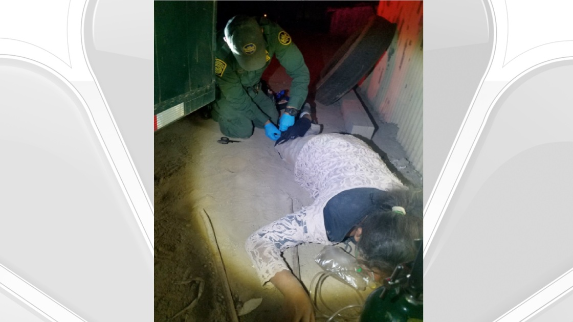 Border Patrol Agents Rescue a Teen Left Behind by Smuggler