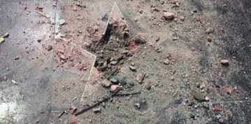 Pickax-Wielding Vandal Smashes President Trump's Hollywood Walk of Fame Star to Pieces