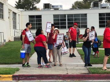 Over 200 Banning Teachers On Strike