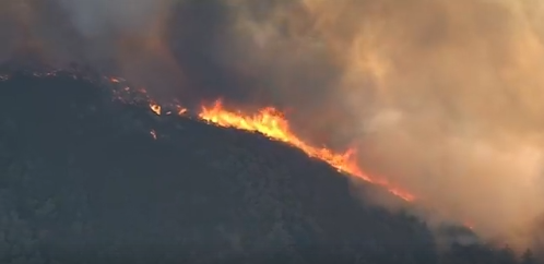 Residents in Holy Fire Scar Burn Scar Area Advised to Prepare to Evacuate