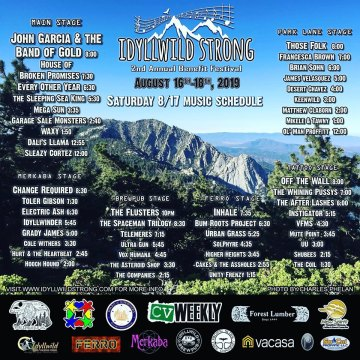 2nd Annual Idyllwild Strong Benefit Festival Kicks Off Tonight
