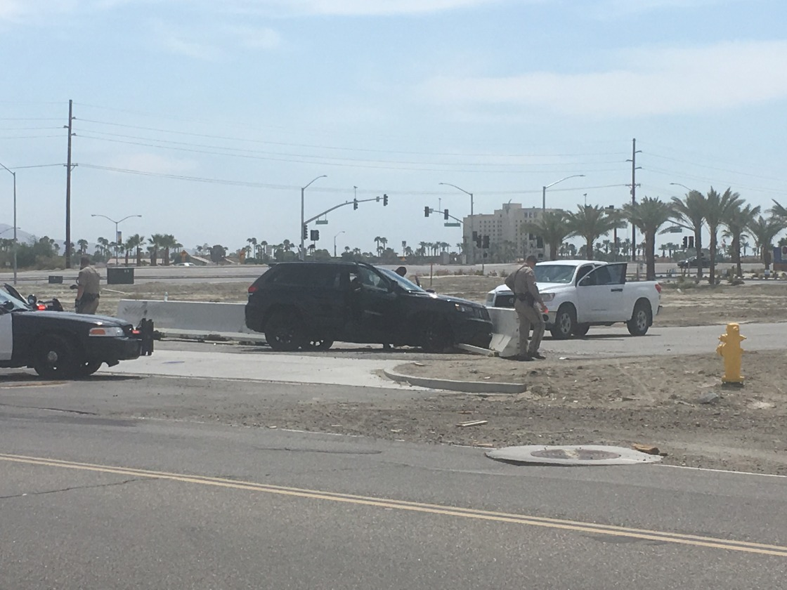 Suspect Leads Police on High Speed Chase from Palm Springs to Indio
