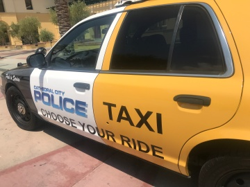 Cathedral City Police Patrol Car Taxi