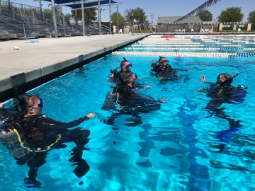 Scuba Helping First Responders