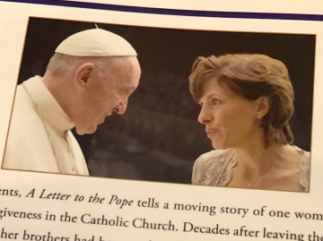 Woman finds healing after writing a letter to the Pope