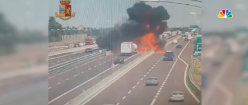 Tanker Truck Explosion in Italy Kills 2, At Least 70 Injured