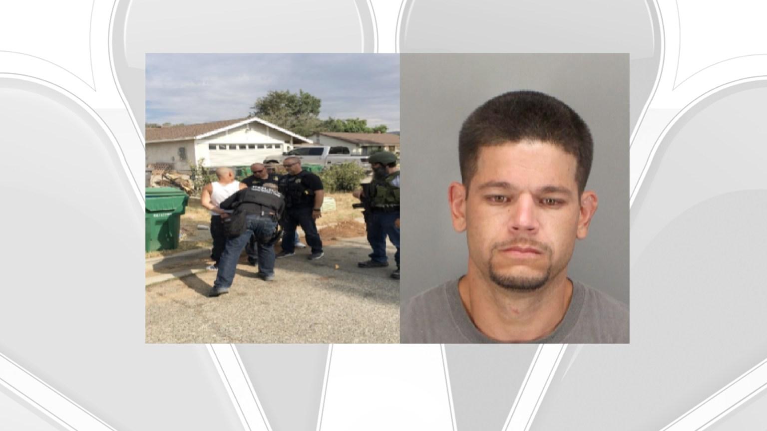 Fugitive From Banning Barricade in Custody