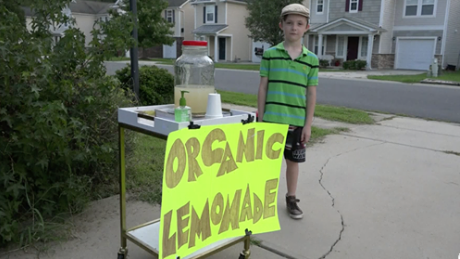 Juvenile Arrested in Stickup of 9-Year-Old's Lemonade Stand